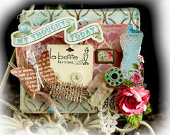 La Petite Mini Album **SCRAPS OF ELEGANCE** April Kit- Possiblity