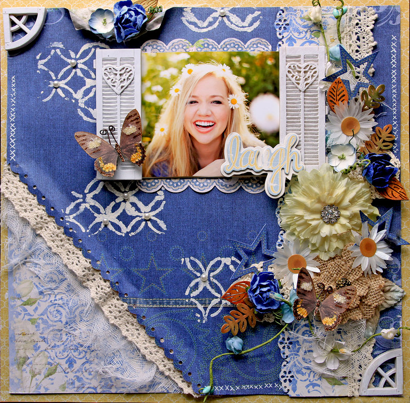 Laugh **SCRAPS OF ELEGANCE** July Kit-Home Sweet Home