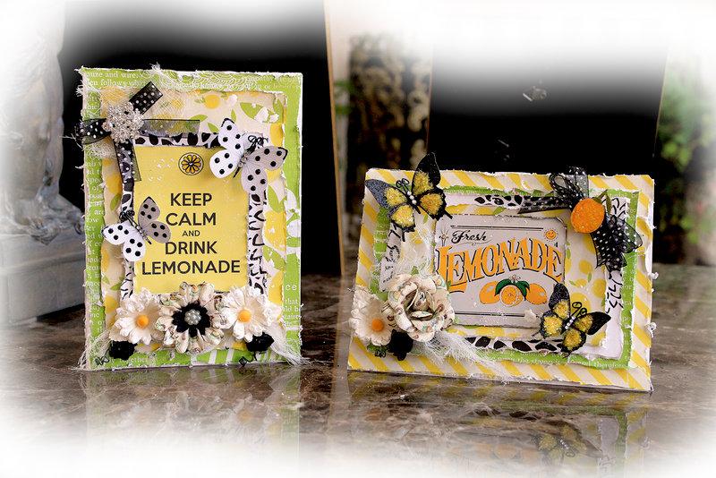 Lemonade Cards *Scraps Of Darkness* March Kit~Radioactive