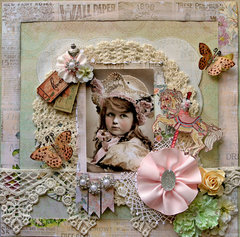Little Lady **TRESORS DE LUXE ETSY** **SCRAPS OF ELEGANCE**