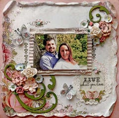 Live What You Love **SCRAPS OF ELEGANCE** August Kit-Summer Haven