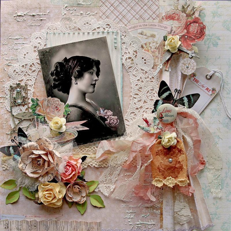 Love Always **Scraps Of Elegance** September Kit~Simply Shabby Chic