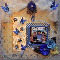 Love Is The Honey **Swirlydoos** Butterfly Challenge
