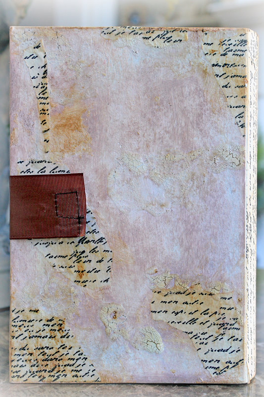 Love Letters Altered Book Box *Scraps Of Elegance* January Kit~Renea's Charm