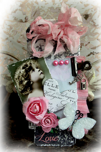 Love Tag **SCRAPS OF ELEGANCE** January Kit-Dream Within A Dream