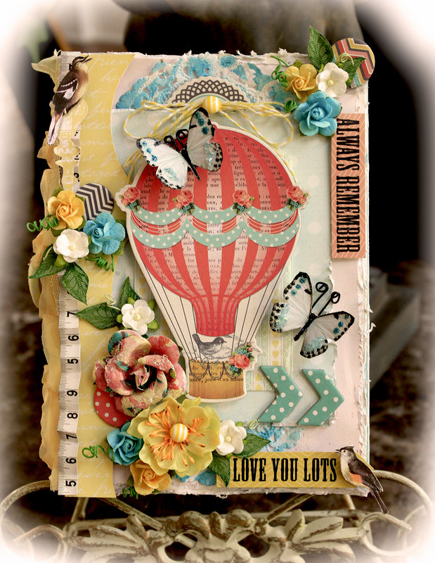 Love You Lots Altered Wooden Box **SCRAPS OF ELEGANCE** June Kit- Whimsy