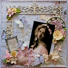 Lovely *Scraps Of Darkness* February Kit~Touch Of Grey