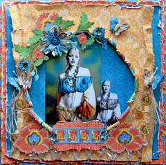 MUSE **Scraps Of Darkness** July Kit Gypsy Summer