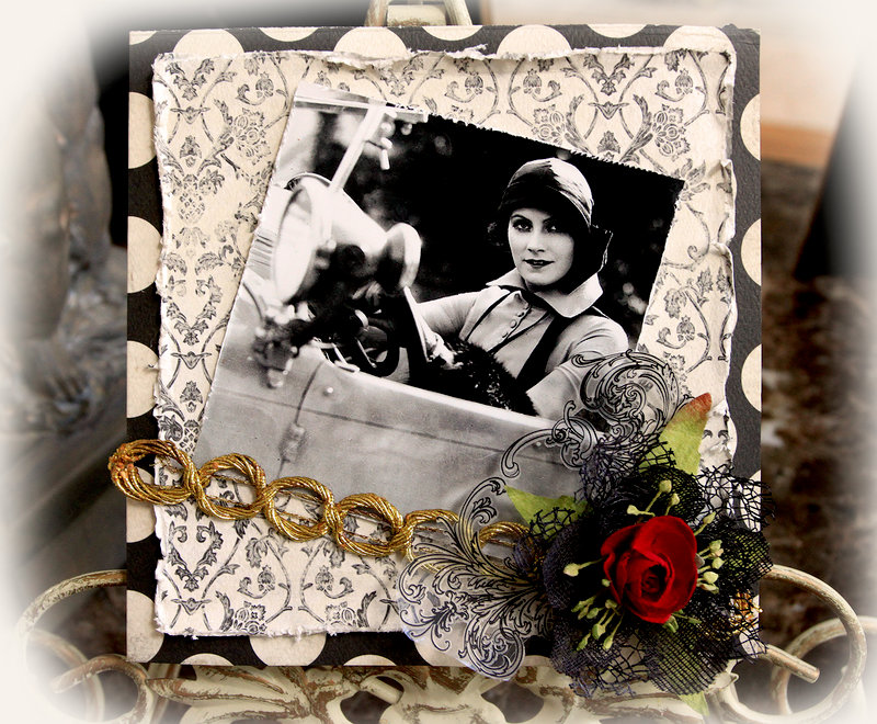 Make It In Minutes-Glamorous Card **SCRAPS OF DARKNESS** May Kit Destinations