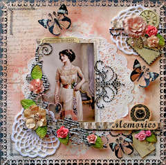 Memories **SCRAPS OF DARKNESS**  July Kit-True Romance