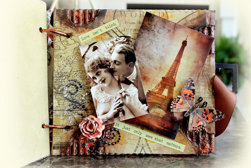 Memories Mini Album **SCRAPS OF DARKNESS** February Kit-Simple Pleasures