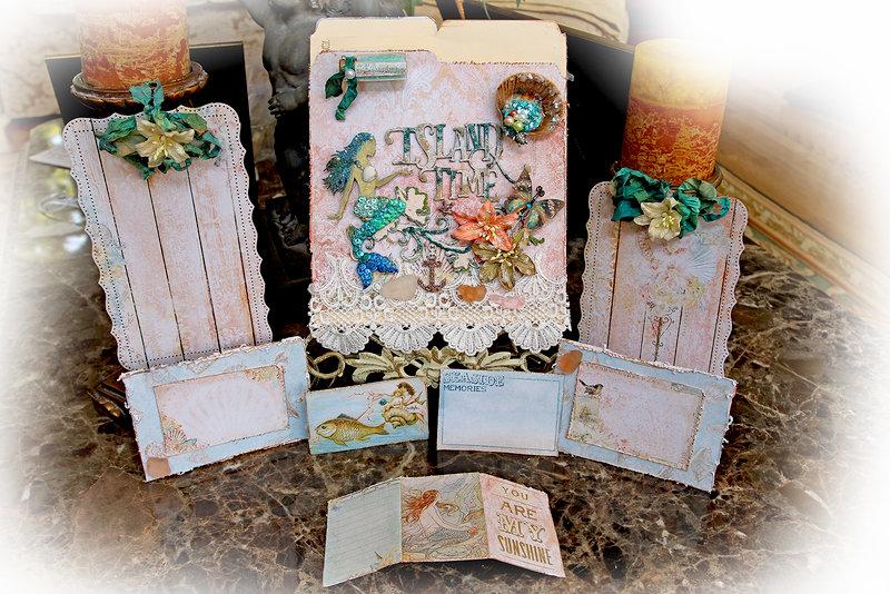 A Mermaid's Tale Pocket Journal *Blue Fern Studios*