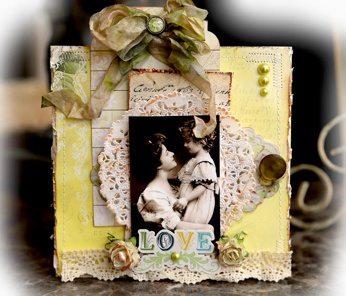 Mother's Day Card **SCRAPS OF ELEGANCE** April Kit-Possibility