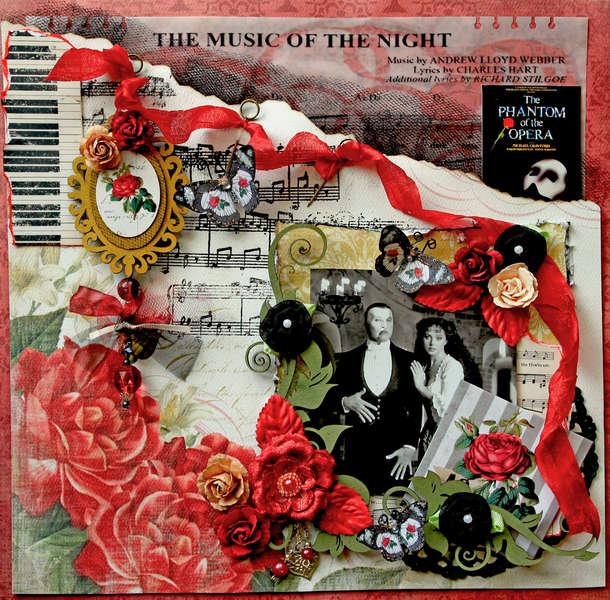 Music Of The Night **SCRAPS OF DARKNESS**  July Kit-True Romance