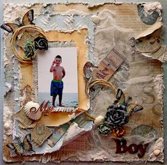 My Boy *Scraps Of Elegance* May Kit~May Cape Holiday