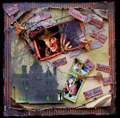 Nightmare On Elm Street **SCRAPS OF DARKNESS** October Kit Halloween Movie Contest