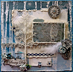 Peaceful *Scraps Of Darkness* December Kit~Winter Wonderland