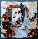 Post Cards From Paris **SCRAPS OF DARKNESS** MARCH KIT-DAY GLO