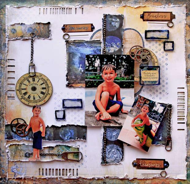 Priceless Treasures **SCRAPS OF DARKNESS** June Kit-White Rabbit