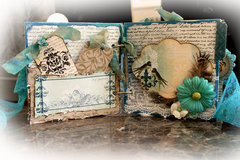 Remember This Mini Album *Scraps Of Elegance* October Kit~Rue Des Rosiers