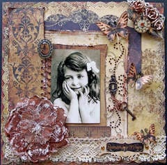 Remember When **SCRAPS OF DARKNESS** June Kit-White Rabbit