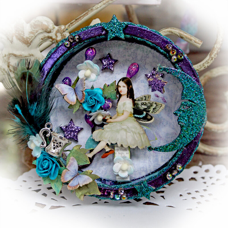 Magical Fairy Bell Fridge Magnet *Reneabouquets*