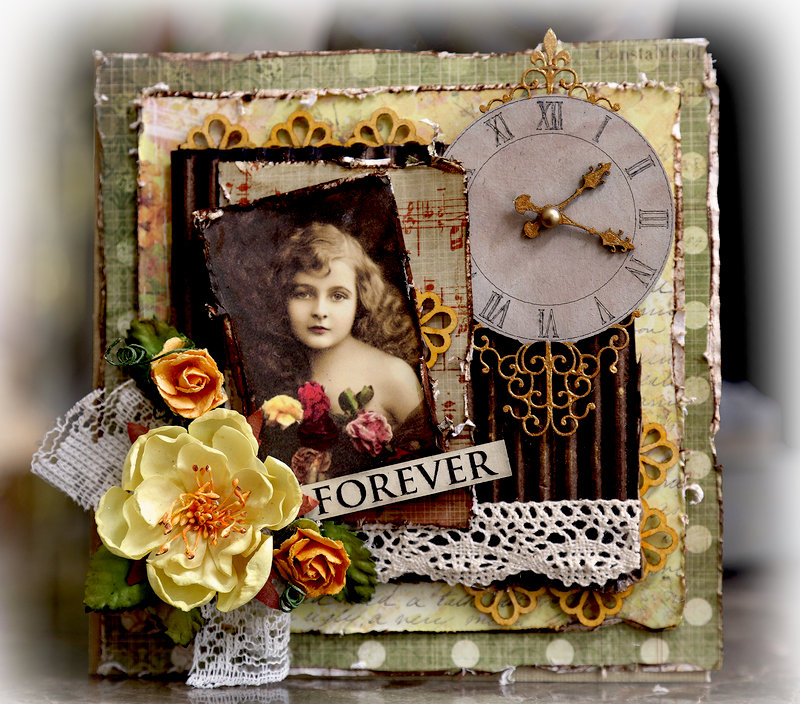 Forever Card **SCRAPMATTS** **SCRAPS OF ELEGANCE**