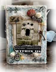 Life Keepsake/Memory Box *SCRAPMATTS* **SCRAPS OF DARKNESS**