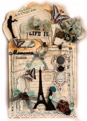 Welcome To Paris Memory Keeper **Scrapmatts** **SCRAPS OF DARKNESS**