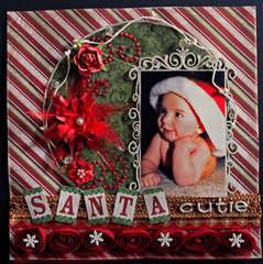 Santa Cutie-Swirlydoos December Kit