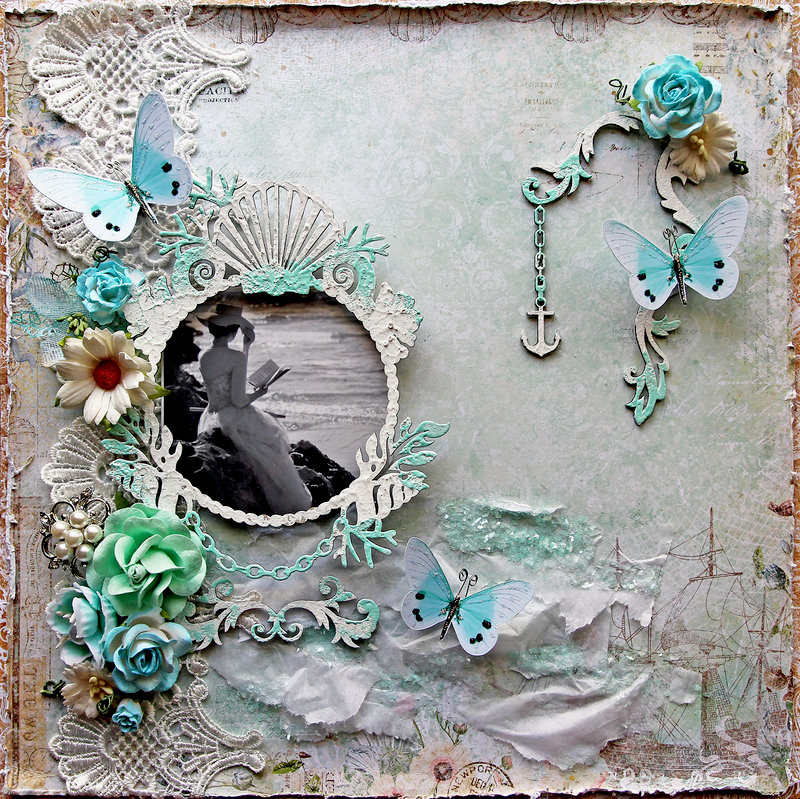 Seaside Rendezvous *Blue Fern Studios*