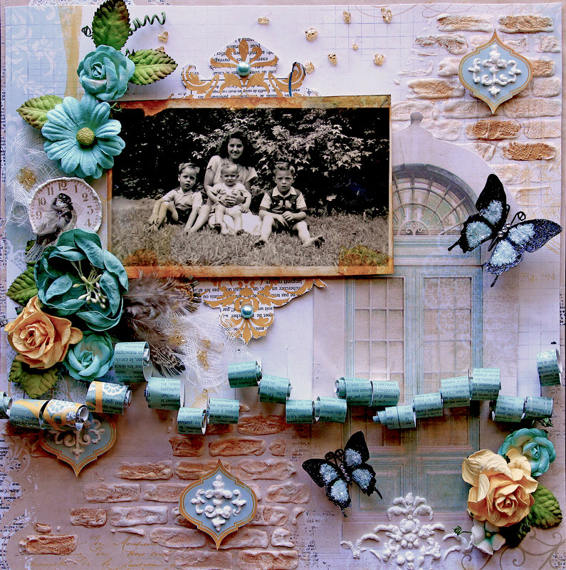 She Was Love **Scraps Of Elegance** October Kit~Rue Des Rosiers