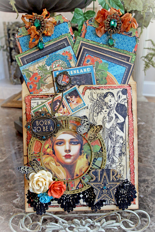 Graphic 45 Vintage Hollywood Pocket Journal *Reneabouquets*