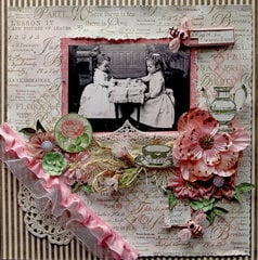Tea With Friends *Tresors De Luxe Etsy Shop*