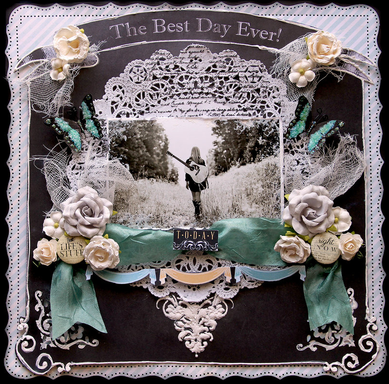 The Best Day **Scraps Of Darkness** September Kit~The Black Album