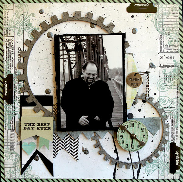 The Best Day Ever **SCRAPS OF DARKNESS** January Kit ~Waterways