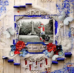 The Good Life **SCRAPS OF DARKNESS** June Kit-Firecracker