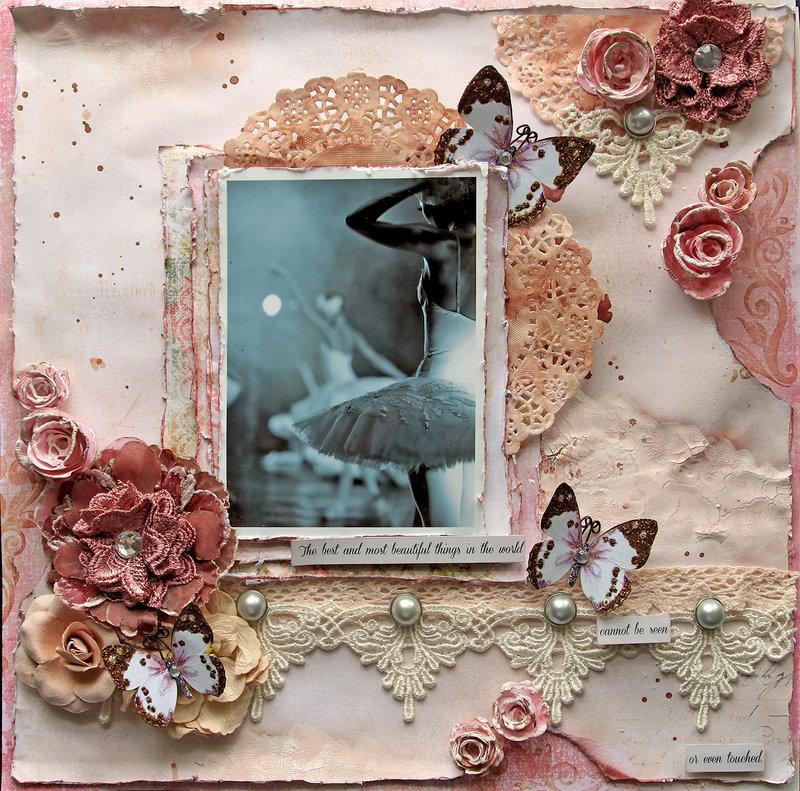 Best & Beautiful Things *Scraps Of Elegance* January Kit~Delightful