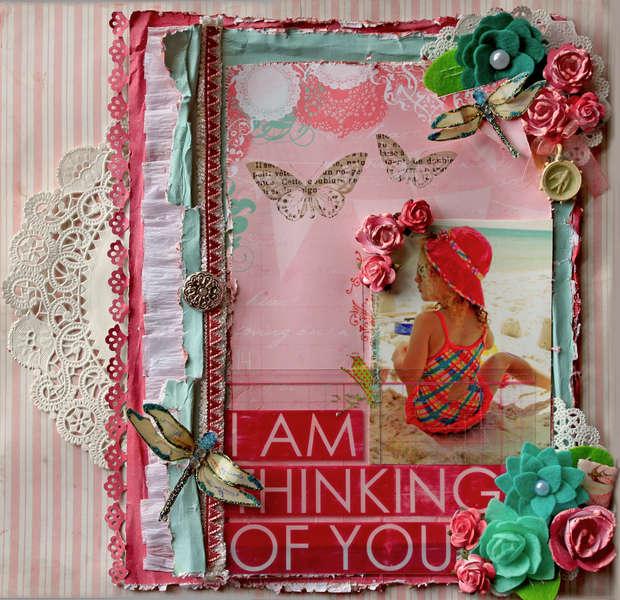 Thinking Of You **SCRAPS OF ELEGANCE** April Kit-Awakening