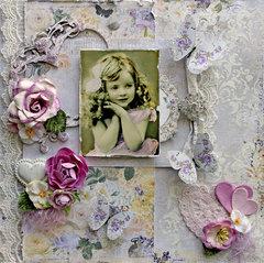 Timeless Beauty *Scraps Of Elegance* June Kit~Stephanie's Treasure