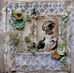 Vintage Sweetness *Scraps Of Elegance* June Kit~Timeless