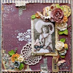 Vintage Time Traveler *Scraps Of Elegance* June Kit~Timeless