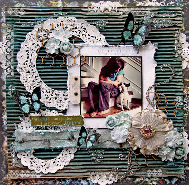 Well Trained **SCRAPS OF DARKNESS** June Kit-White Rabbit