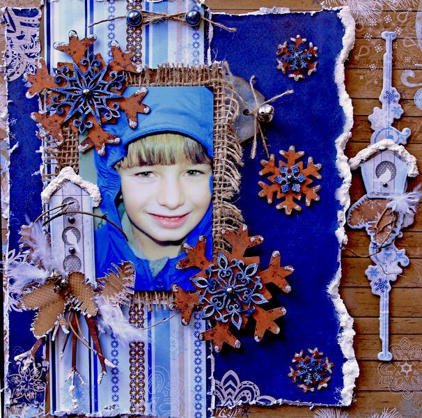 Winter 2002 **SCRAPS OF ELEGANCE** December Kit-Winter Wishes