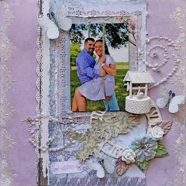 Wishes **SCRAPS OF ELEGANCE** June Kit Country Charm