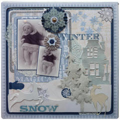Winter Snow - OUAS challenge december