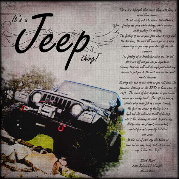 Its A Jeep Thing