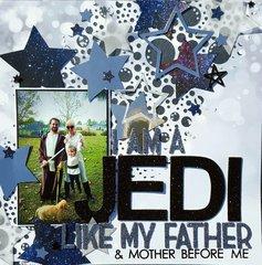 I am a Jedi like my Father before me