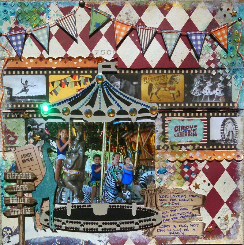(79) Lowery Zoo Carousel