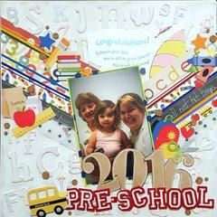 Pre-school 2016